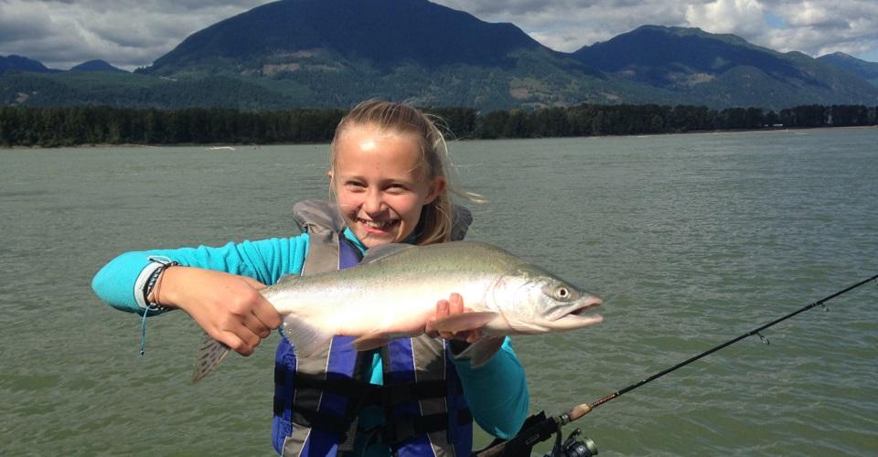 Fraser river salmon fishing guides silversides fishing for Salmon fishing canada