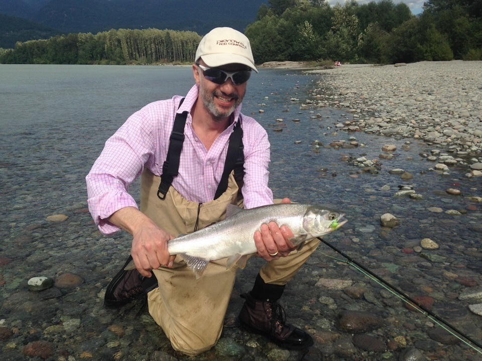 Fishing report vancouver bc fraser river valley for Fishing for salmon