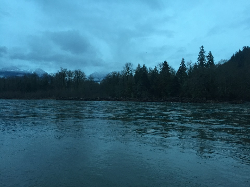 Last day of salmon fishing is a winner silversides for Where can i go fishing near me
