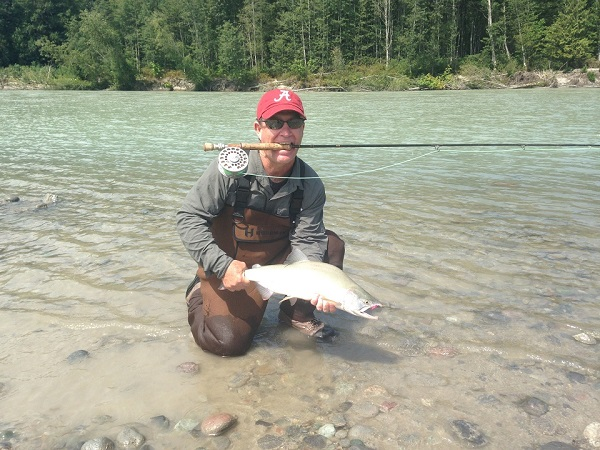 Squamish River Salmon Fly Fishing - Silversides Fishing Adventures