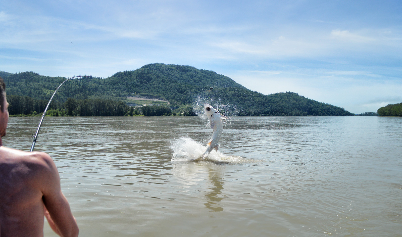 Sturgeon fishing charters holiday packages fraser river for Fraser river fishing