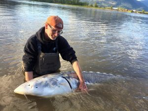 fly fishing, fly fishing guide, brian mack, brian mckinlay, vancouver fishing guide, fraser river fishing guide, sturgeon guide, fraser river sturgeon, giant sturgeon