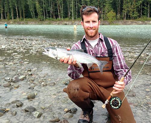 pink salmon, pink salmon fly fishing, fly fishing, fly fishing guides, vancouver fly fishing, salmon fly fishing, vancouver fly fishing guides