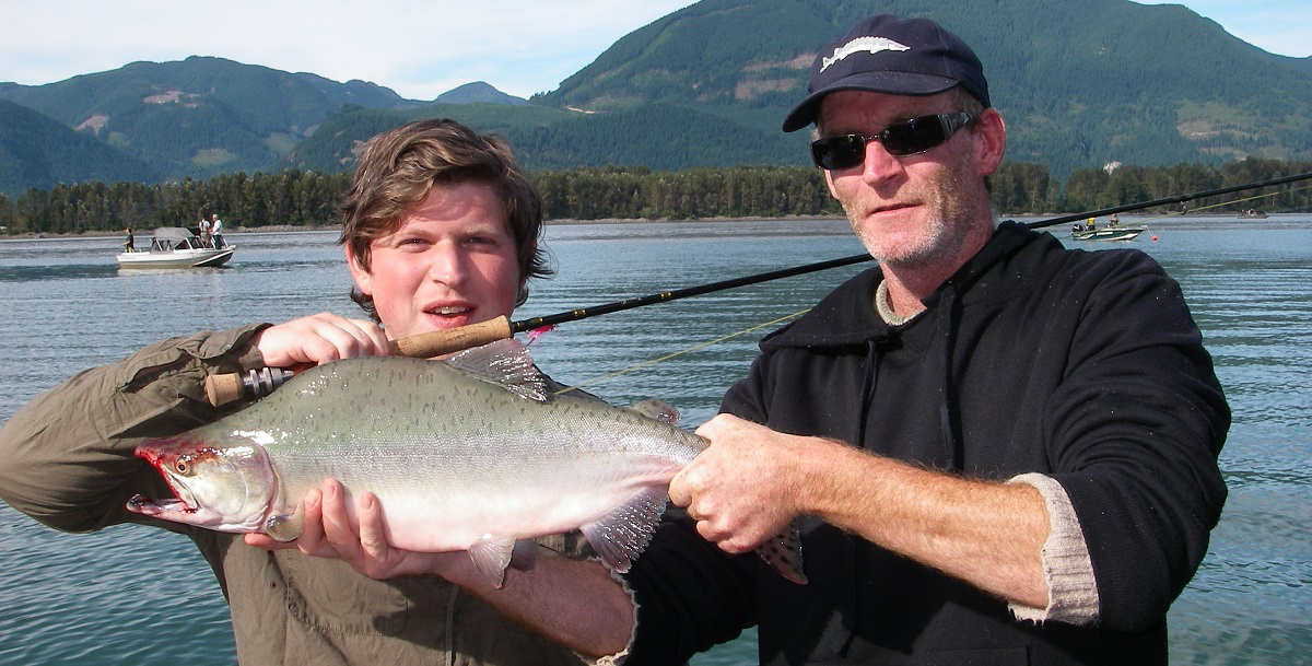 best fly fishing vancouver, best fly fishing bc, salmon fly fishing, fraser valley fishing, bc fly fishing guides, pink salmon, kings of leon