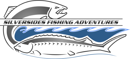silversides fishing, logo